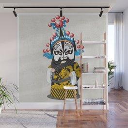 Beijing Opera Character ZhangFei Wall Mural