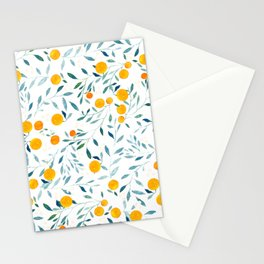 Orange Tree Stationery Cards