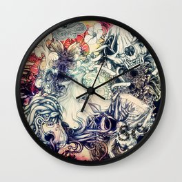 Second Mix Wall Clock