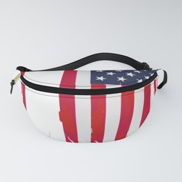 Indiana Design, Gift & Souvenir For The People Of Indiana Fanny Pack