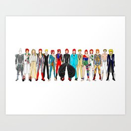 Heroes Labyrinth Art Print