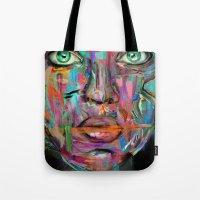 wonder Tote Bags featuring Wonder by Archan Nair