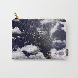 Deep Blue sky Carry-All Pouch