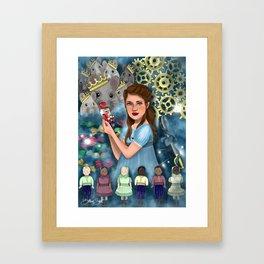 The Nutcracker Illustration Framed Art Print