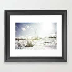 { GRASSY PERSPECTIVE } Framed Art Print