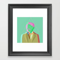 ☢ Mr. Nuclear ☢ Framed Art Print