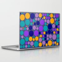 dots Laptop & iPad Skins featuring Dots by Aloke Design