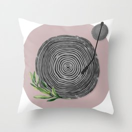 The Sound of Nature Throw Pillow