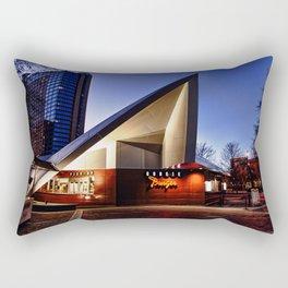 Googie Twilight Rectangular Pillow