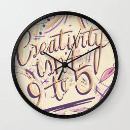 24 Hour Creative Wall Clock