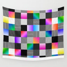 Mondrian Couture Wall Tapestry