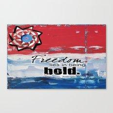 Bold Freedom Canvas Print
