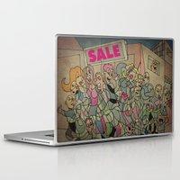 sale Laptop & iPad Skins featuring Sale by Matt Jeffs