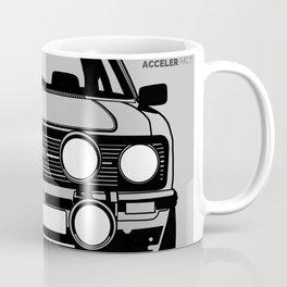 Escort Mk2 - (Black and white on a grey background) Coffee Mug