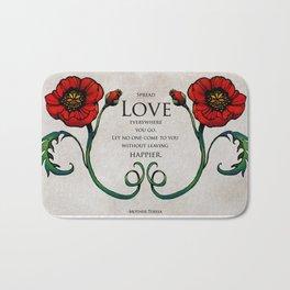Spread Love Bath Mat
