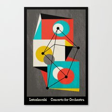 Lutoslawski Concerto for Orchestra Canvas Print