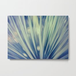 Natures Fancy Fan Metal Print
