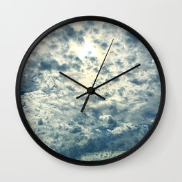 On Cloud 9 Wall Clock