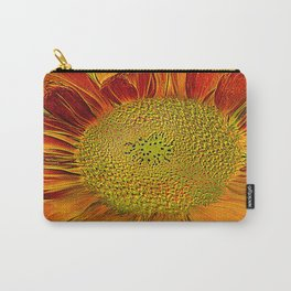 flower of sun (This Art work is in collaboration with the great artist designer Joe Ganech) Carry-All Pouch