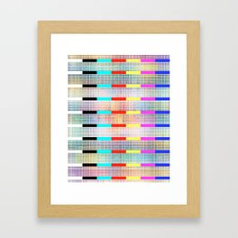 Lucid Figments Framed Art Print