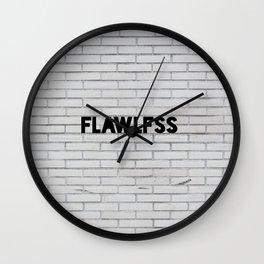 FLAWLFSS Wall Clock