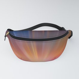 Abstract motion blur background. Fanny Pack