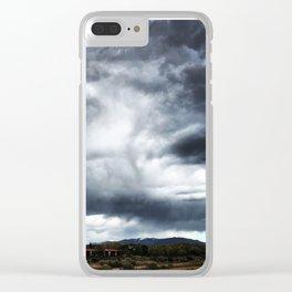 Santa Fe Sky Clear iPhone Case