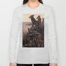 Vintage Jackals Painting (1909) Long Sleeve T-shirt