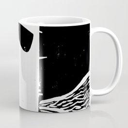 Photo White - Abstract Surrealism Print Coffee Mug