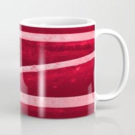 Red Metal Grate Coffee Mug