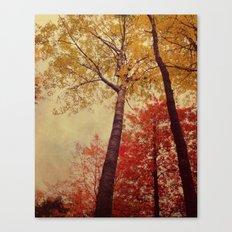 Autumn Couple Canvas Print