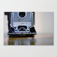 Polaroid Land Canvas Print