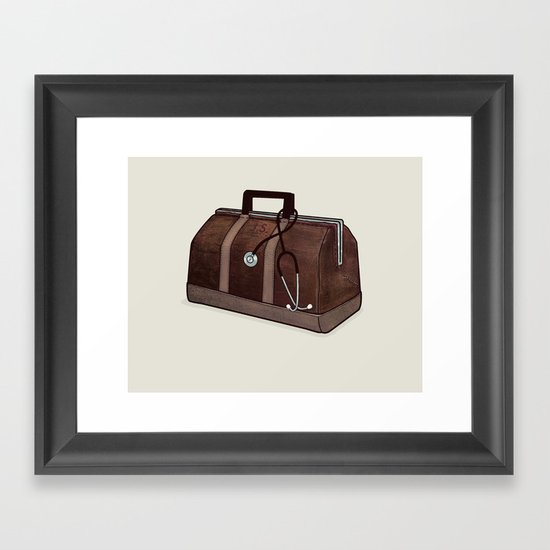 LOST Luggage / Jack Framed Art Print