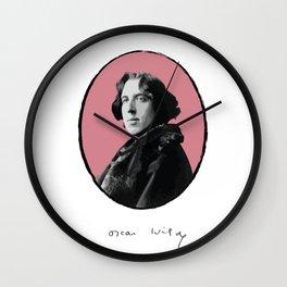 Authors - Oscar Wilde Wall Clock