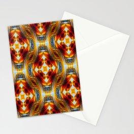 Interlocking Sunflowers.... Stationery Cards