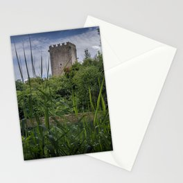 The tower of Ninfa Stationery Cards