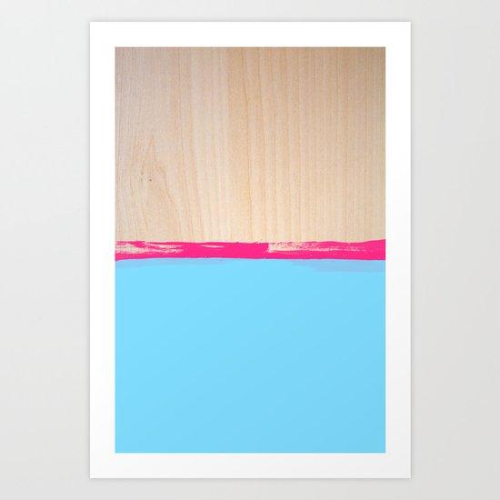 Sorbet VI Art Print