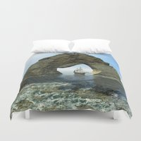 ship Duvet Covers featuring Ship by nicky2342