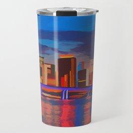 Miami Evening Travel Mug