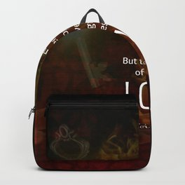 1 Corinthians 13:13 Bible Verses Quote About LOVE Backpack