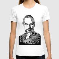 steve jobs T-shirts featuring Steve Jobs Doodle by Rebecca Bear