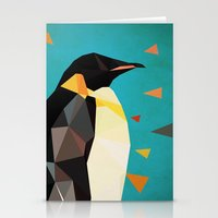 penguin Stationery Cards featuring penguin by gazonula