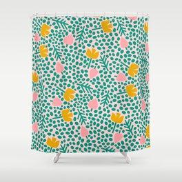 holland dots Shower Curtain