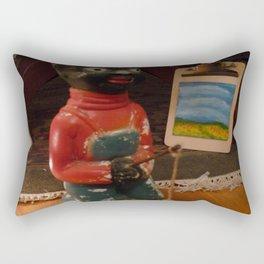 My Artist Friend Rectangular Pillow