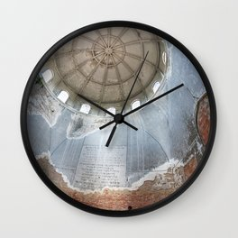 Ancient Architecture Wall Clock