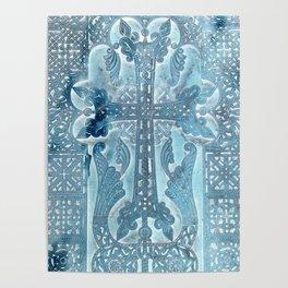Celtic Blue - JUSTART © Poster