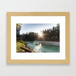 Bull Creek Flats Framed Art Print