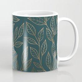 Botanical Pattern - Bronze N7 Coffee Mug