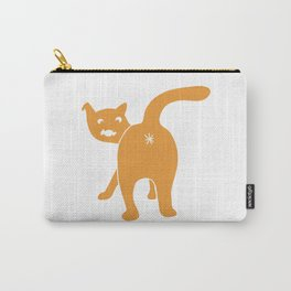 Funny Chonk Cat Yellow 014 Carry-All Pouch