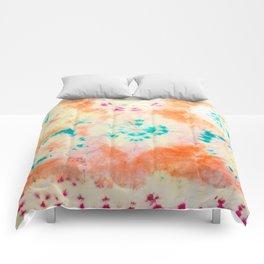 malibu sunrise Comforters